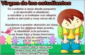 Oración de la mañana para el buen estudiante
