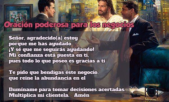 Oración poderosa para los negocios