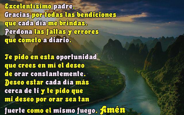 oraciones cristianas para empezar el dia
