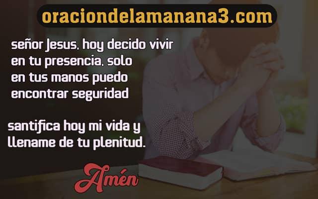 Oración para santificar tu despertar