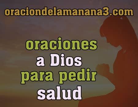 Oraciones a DIos para pedir salud