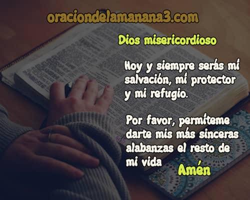 oración de alabanza cristiana