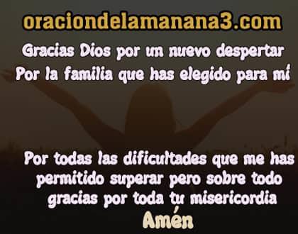 Oración bonita a Dios para dar gracias