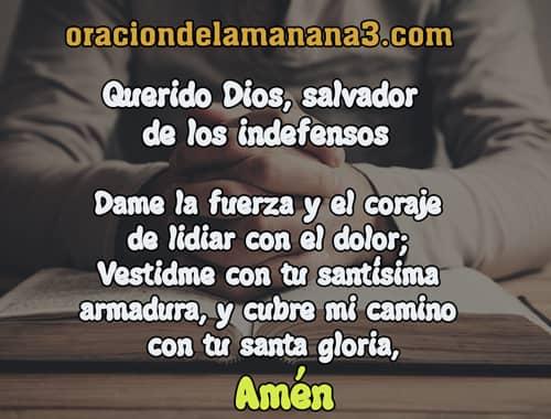 Breve oracion para que DIos me ayude