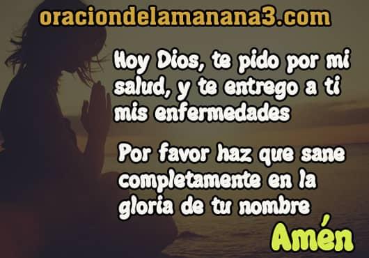 Breve oración a Dios para pedir salud