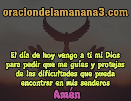 Oración corta pidiendo protección a Dios