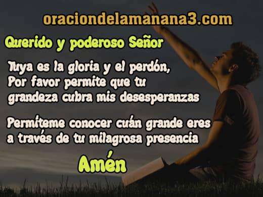 Oración para pedir algo difícil