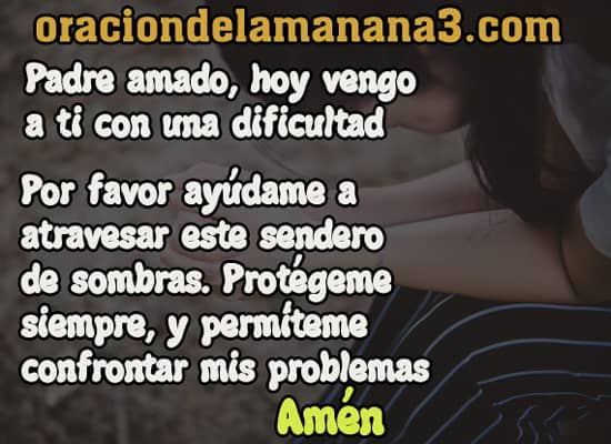 Oración para pedir ayuda a DIos en casos imposibles