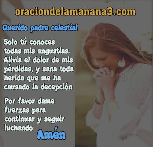 Oración para superar las dificultades de la vida