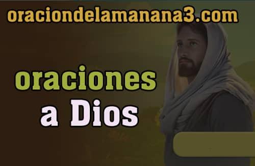 Oraciones a DIos