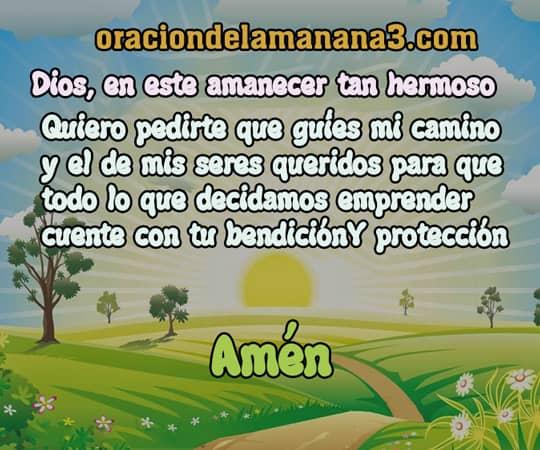 oraciones matutinas a Dios
