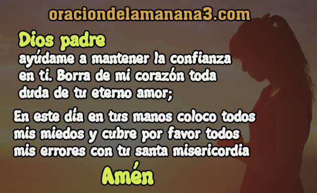yo creo en DIos Oracion
